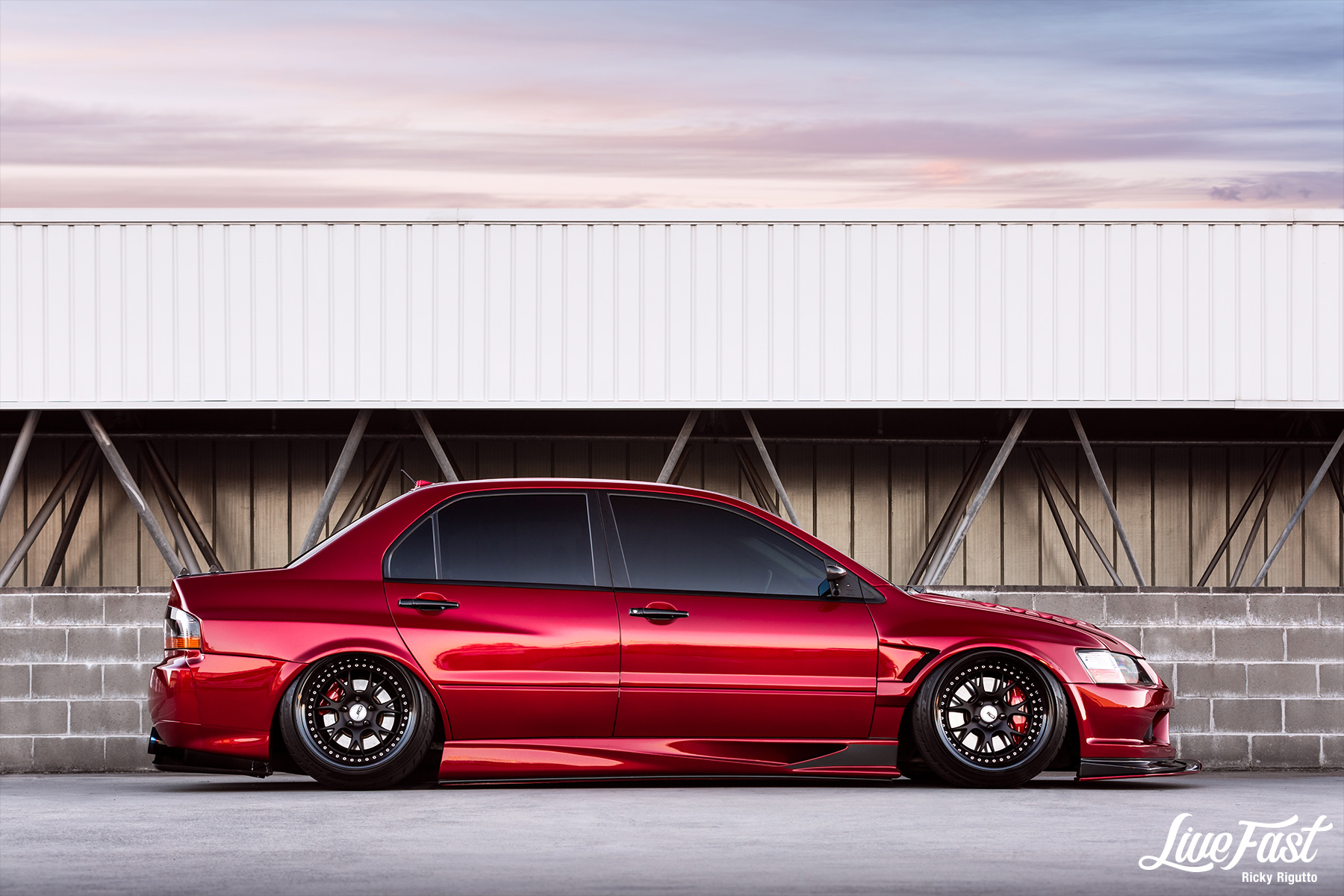 JAKE'S WIDEBODY EVO IX // MARCH FEATURE – Live Fast