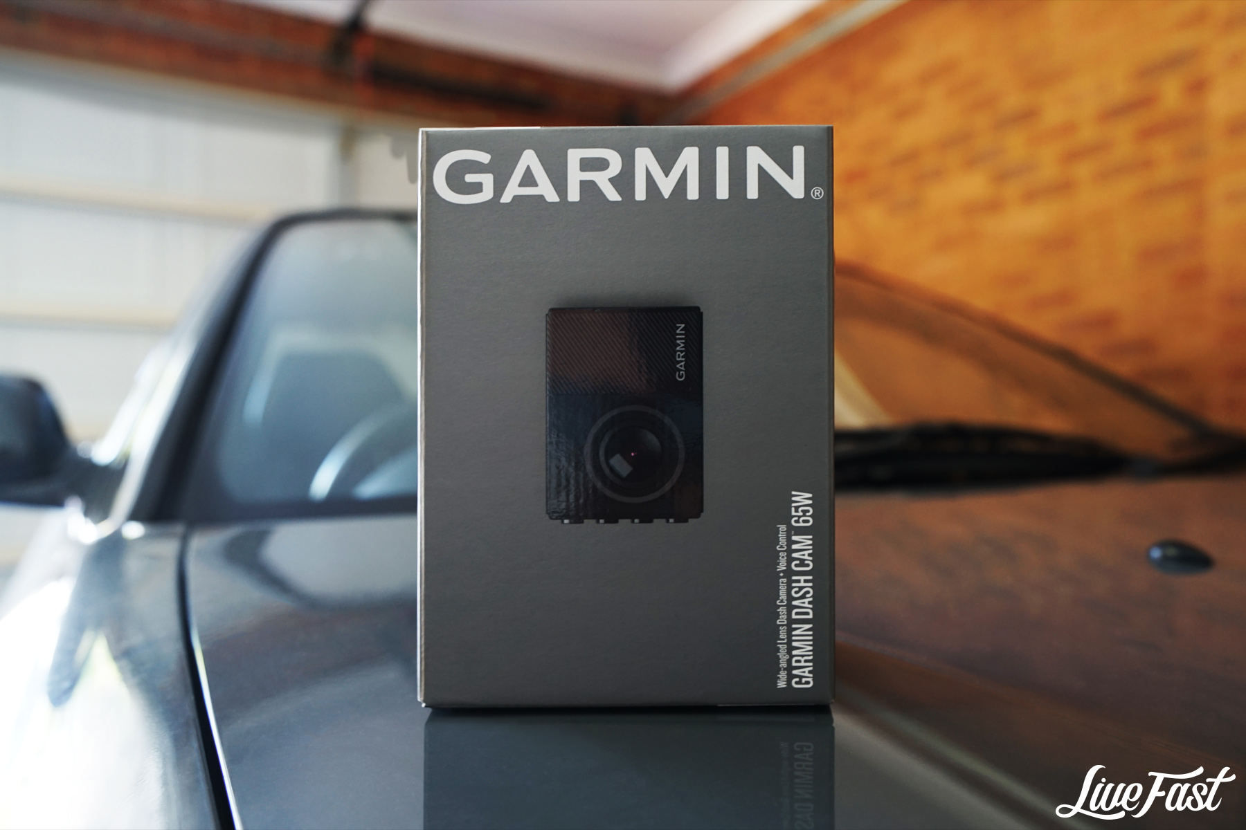 PRODUCT REVIEW: THE GARMIN DASH CAM 65W – Live Fast